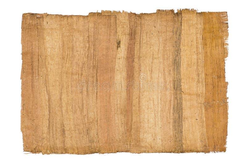Antiker Papyrus stockfoto