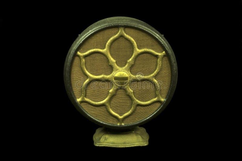 Antiker Radiolautsprecher stockfotografie