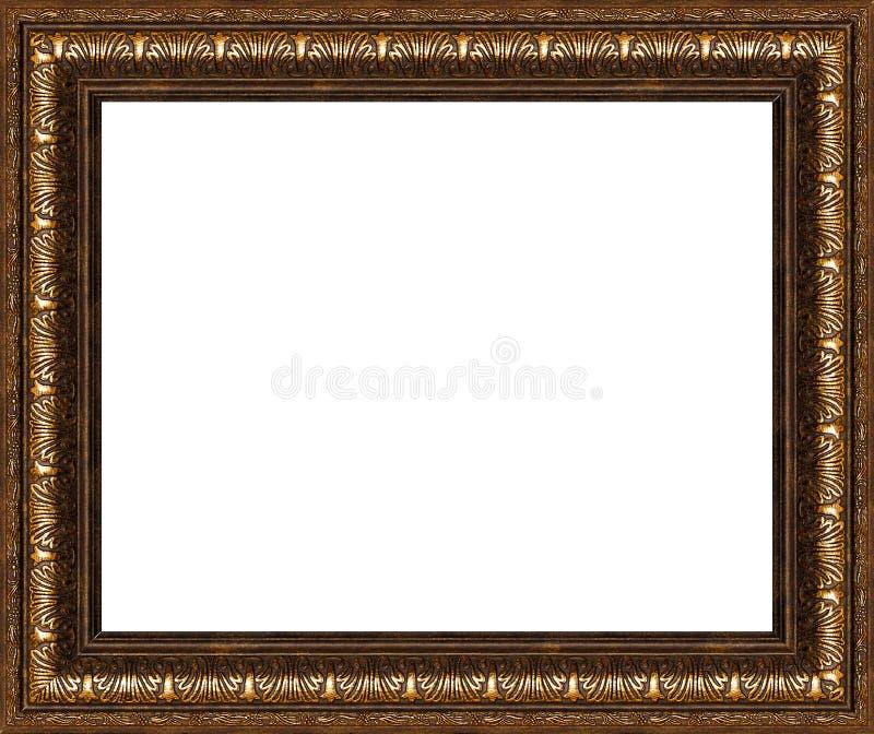 Antiker Rustikaler Bilderrahmen Getrennt Stockbild - Bild von ...