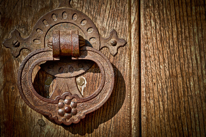 Antiker Tür-Knopf lizenzfreie stockfotografie