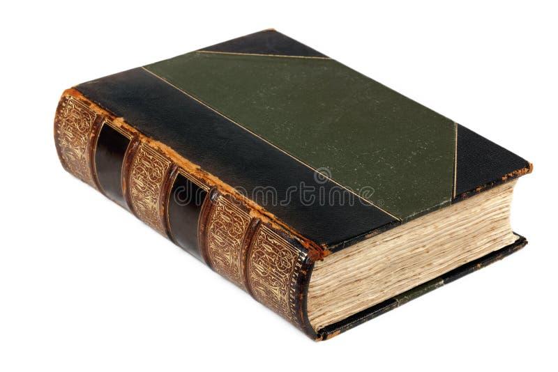 Antikes Buch getrennt lizenzfreies stockfoto