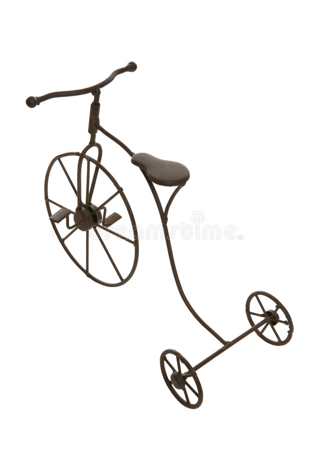 Antikes Fahrrad lizenzfreies stockfoto