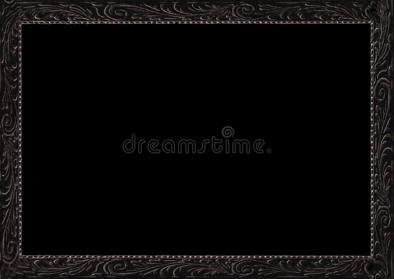 Antikes Feld-umgebender schwarzer Hintergrund lizenzfreies stockfoto