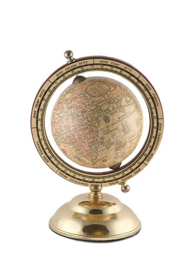 Antikes globus stockfotos