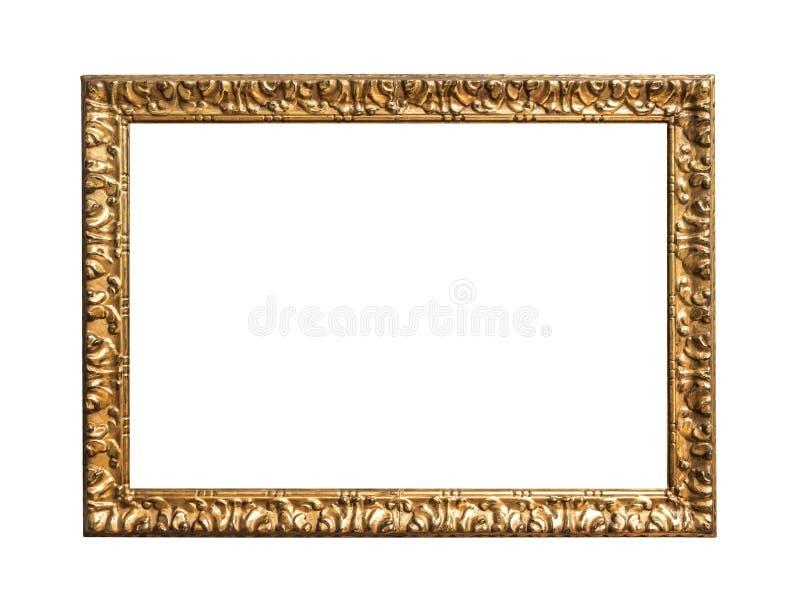 Antikes goldenes Feld stockbild