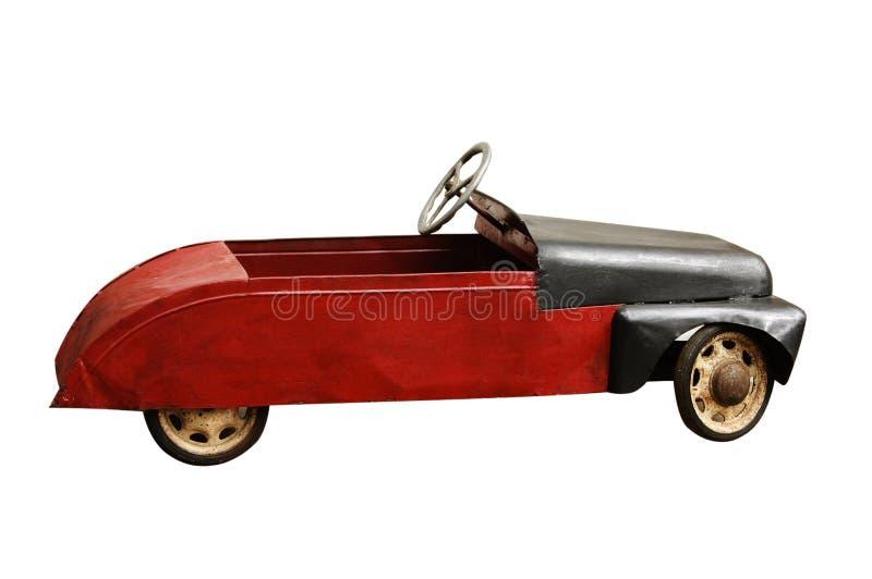 Antikes Spielzeugauto stockbild