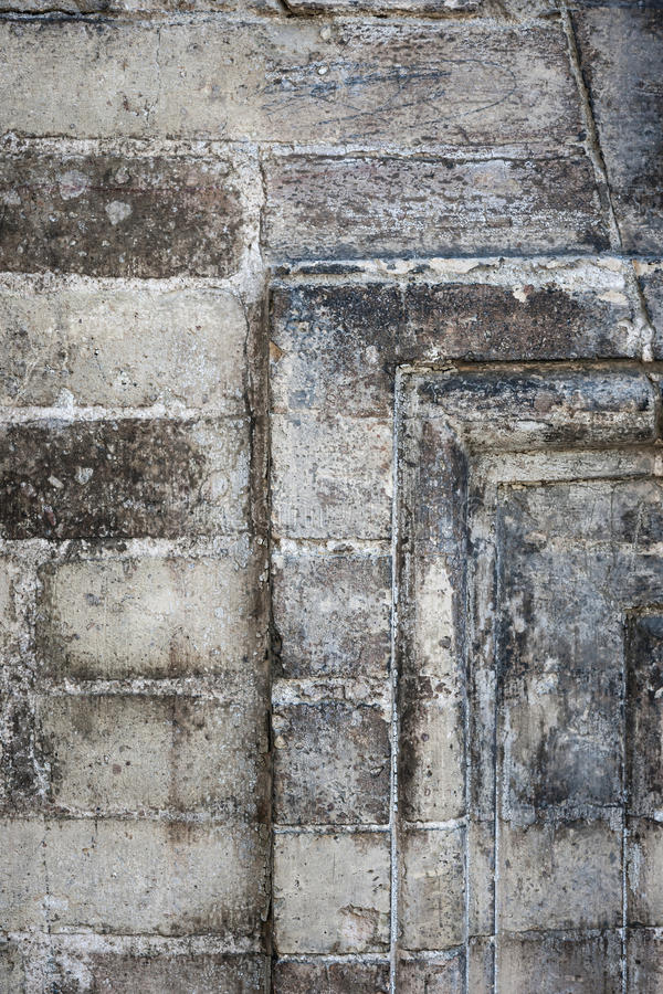 Antikes Steinwanddetail lizenzfreies stockbild