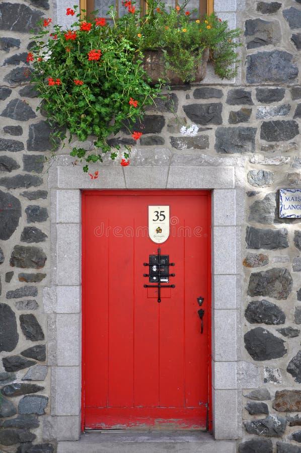 Tor von Quebec-Haus, Québec-Stadt, Kanada lizenzfreie stockfotos