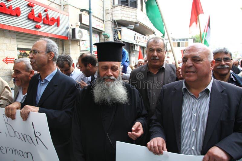 Download Antikriegdemonstration, Die Gaza In Nazareth Unterstützt Redaktionelles Stockfotografie - Bild von heimat, palästinensisch: 27730327