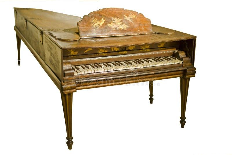 antikt piano fotografering för bildbyråer