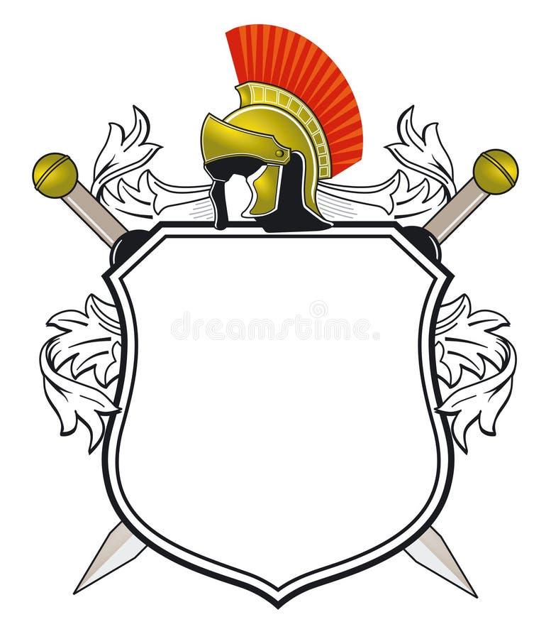 antikviteten arms laget stock illustrationer