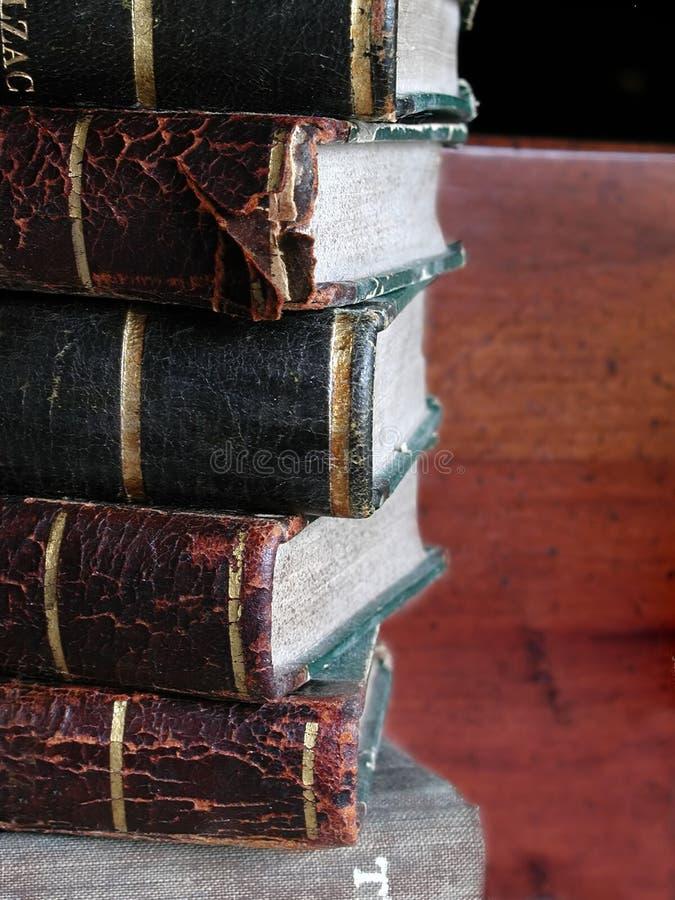 antikviteten books fransman ii arkivbilder