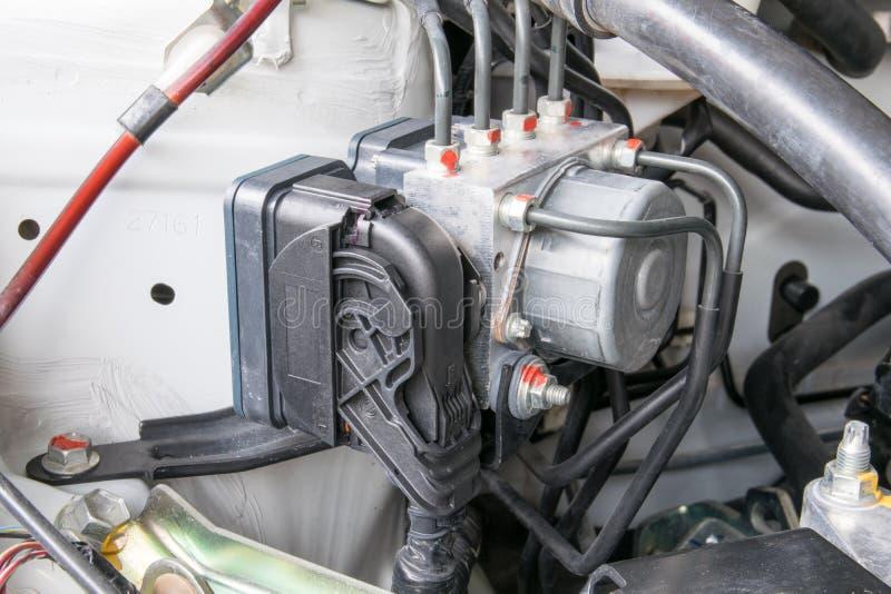 Antilock braking system abs. Closeup royalty free stock images