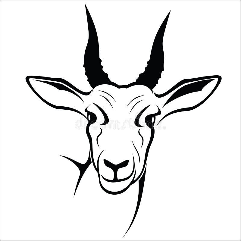antilope royalty illustrazione gratis