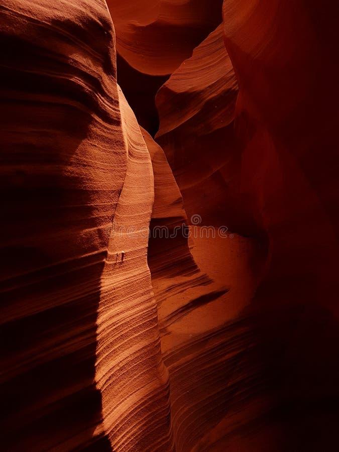 Antilopen-Schlucht, Arizona lizenzfreies stockfoto