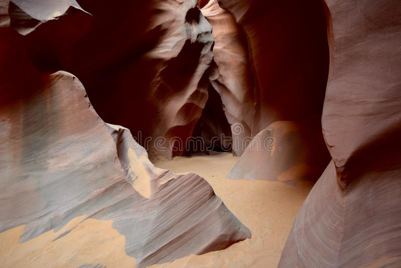 Antilopen-Schlucht, Seite, Arizona, USA stockfoto