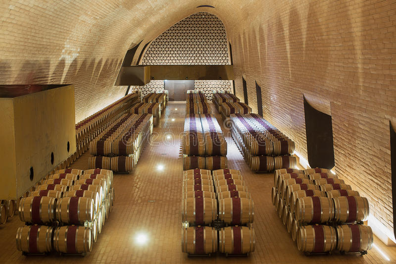 Antinori Winery Italy stock image