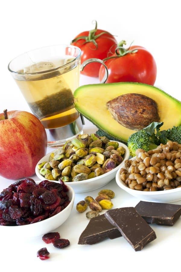 Antioxidantes imagenes de archivo