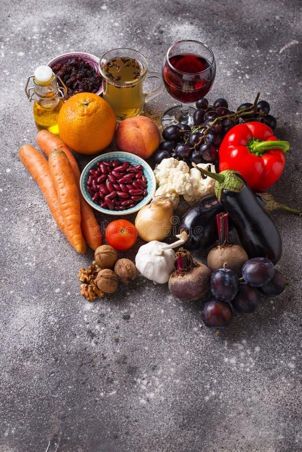 Antioxidantes en productos Consumici?n limpia fotos de archivo