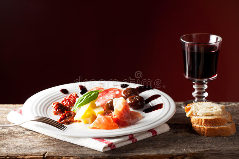 Antipasti stockbild