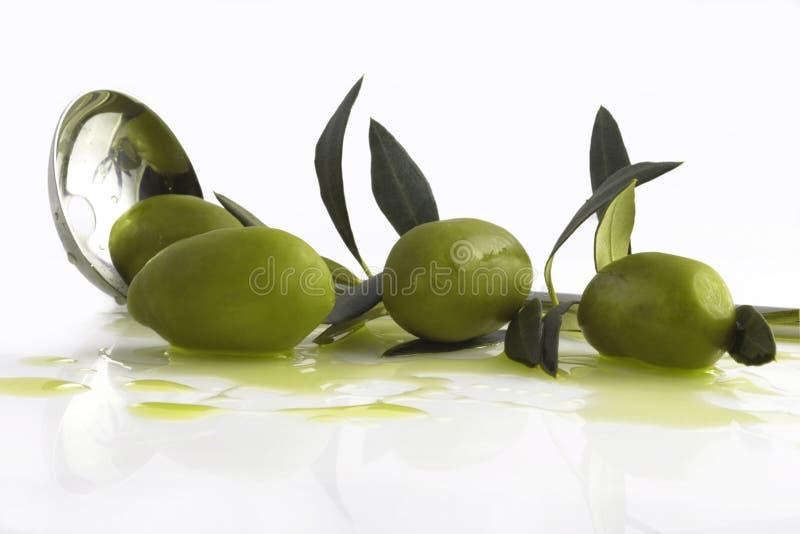 Antipasti - Oliven stockfoto