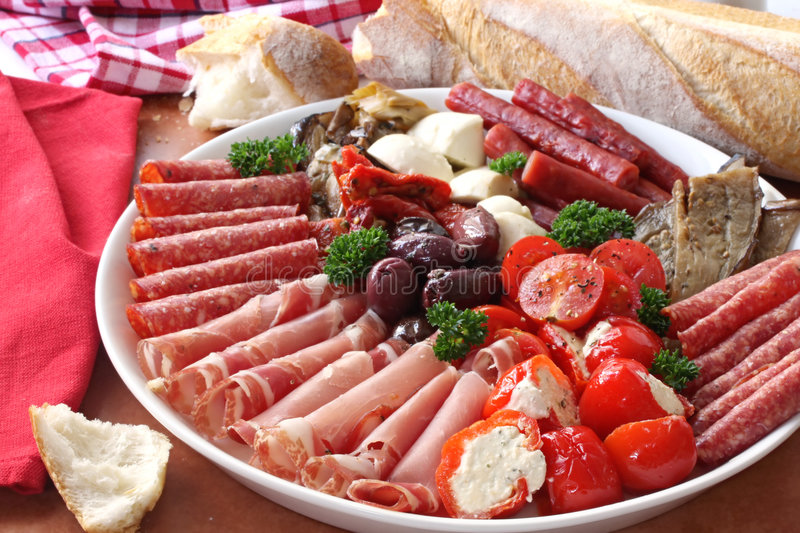 antipasto obrazy royalty free