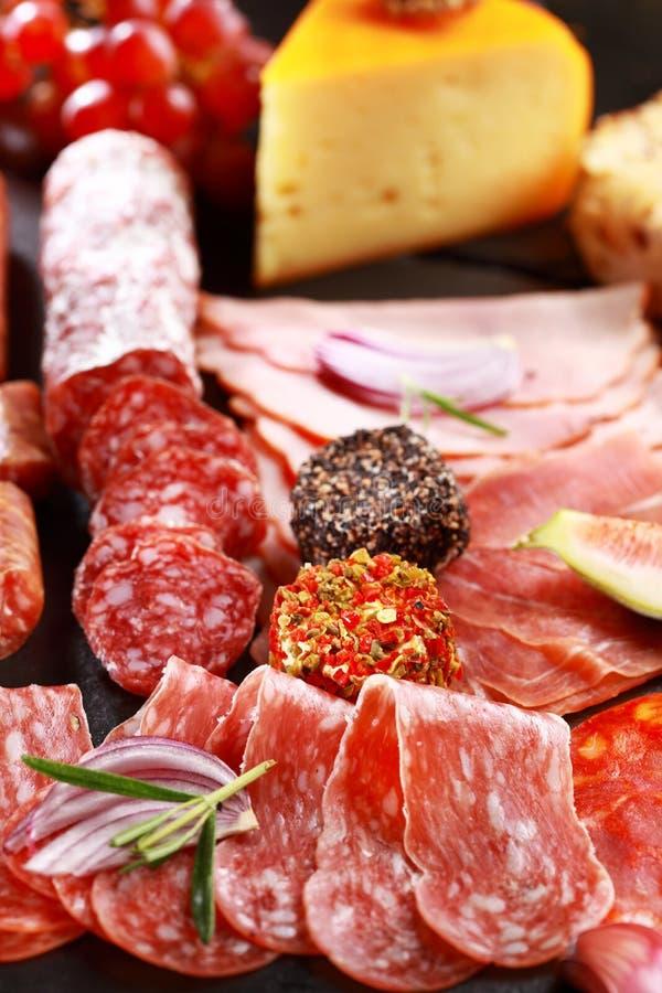 Antipasto catering platter royalty free stock photos