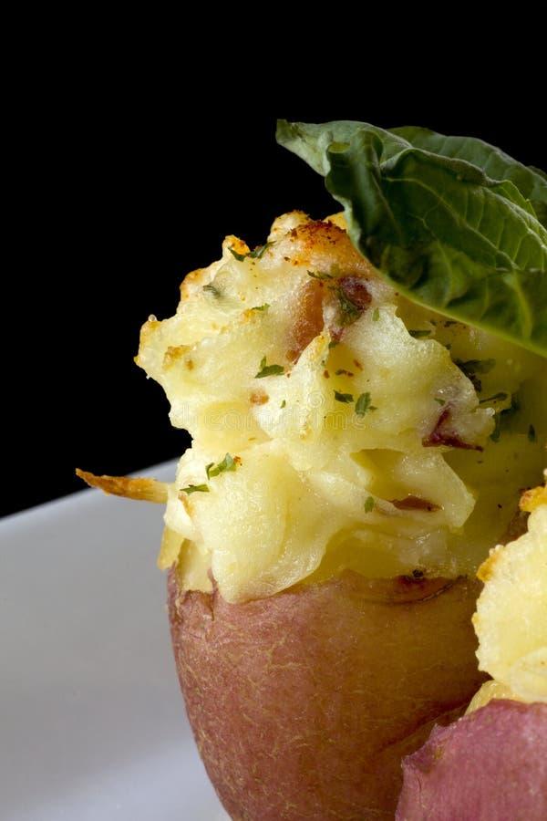 Antipasto farcito della patata immagine stock