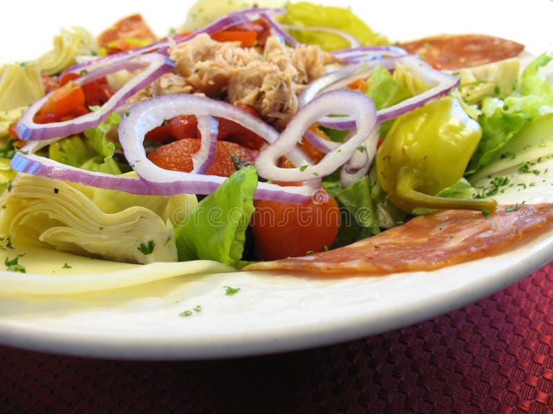 Antipasto-Salat lizenzfreie stockbilder