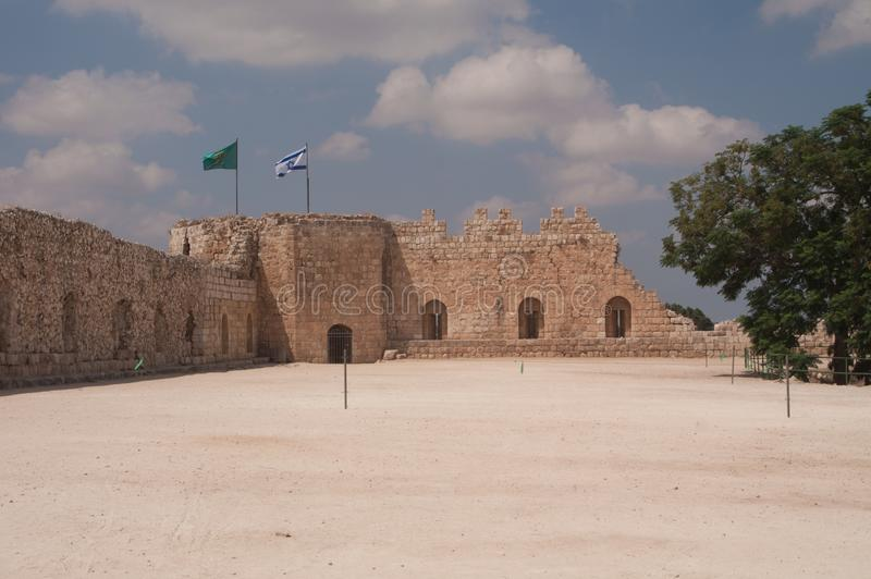 Antipatris庭院, Tel Afek,以色列 图库摄影