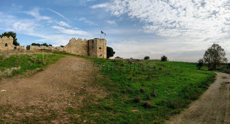 Antipatris fästning royaltyfria bilder