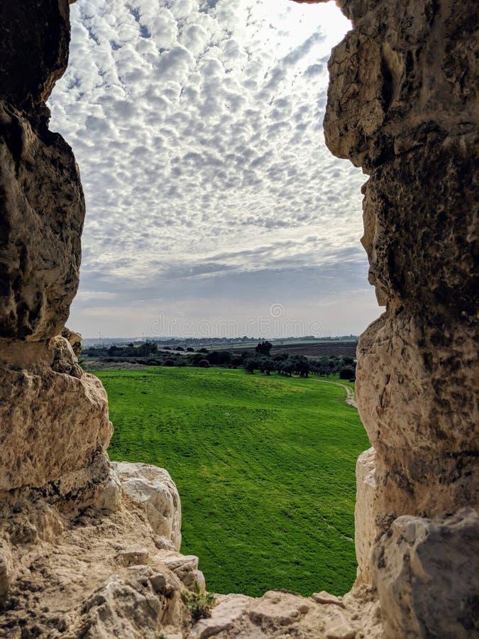 Antipatris fästning arkivfoto