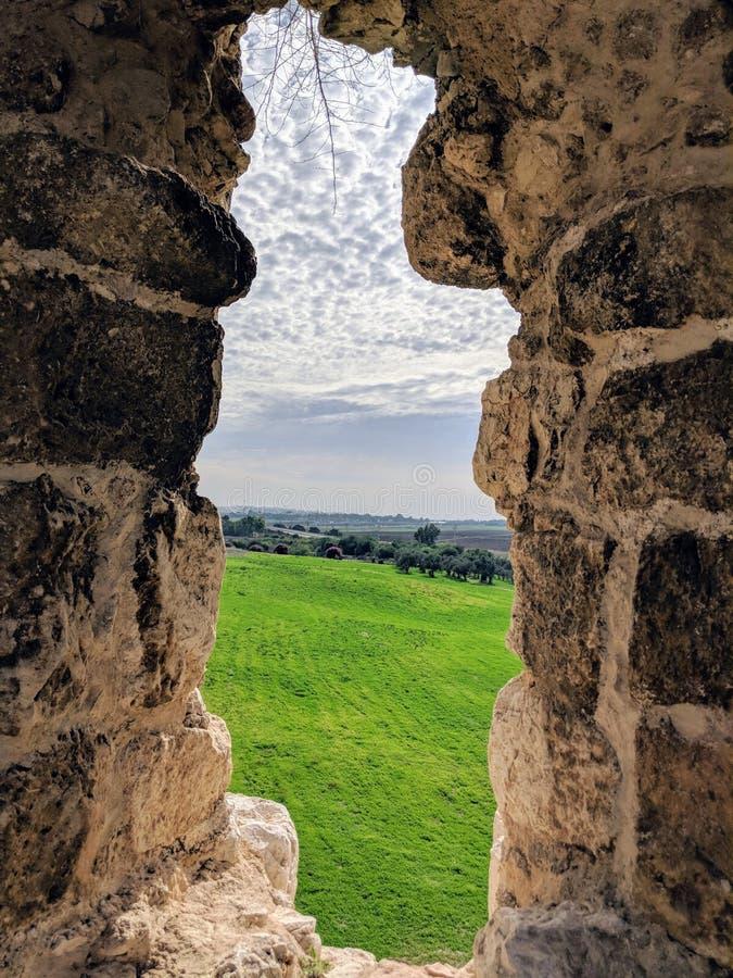 Antipatris fästning arkivbilder