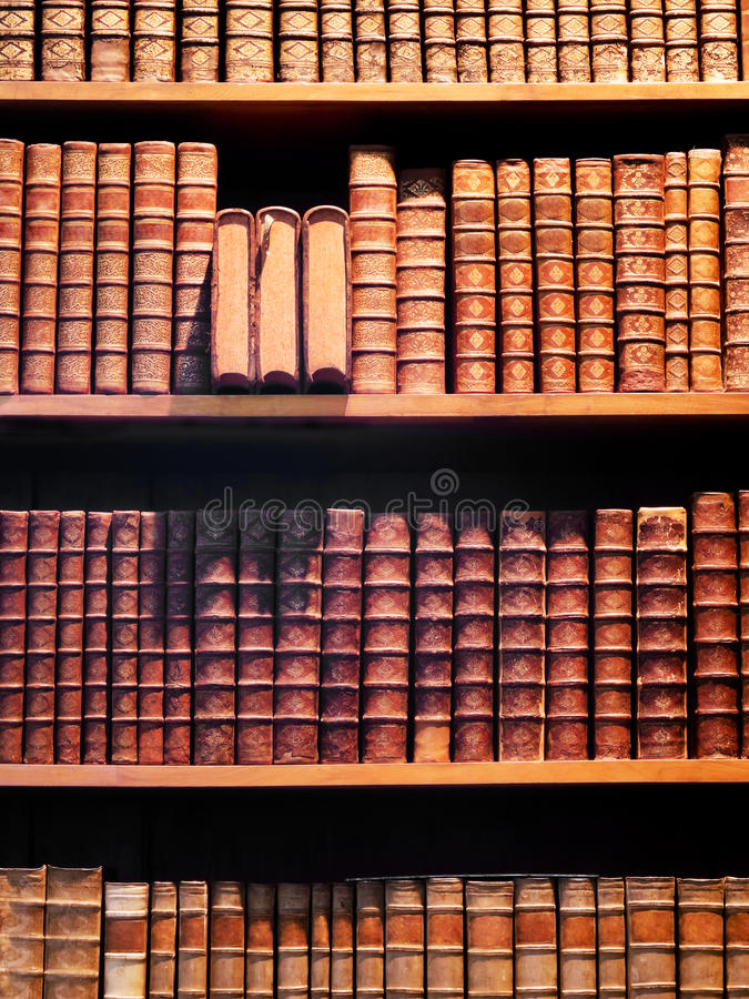 Antiquarian Books Stock Image