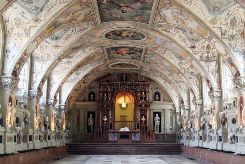 Antiquarium della residenza di Monaco di Baviera fotografie stock