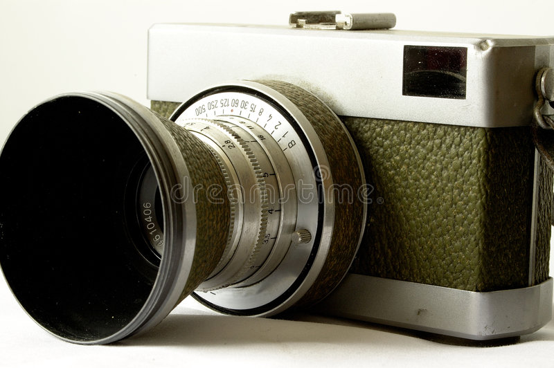 Download Antique 35mm camera stock image. Image of zeiss, antique - 79141