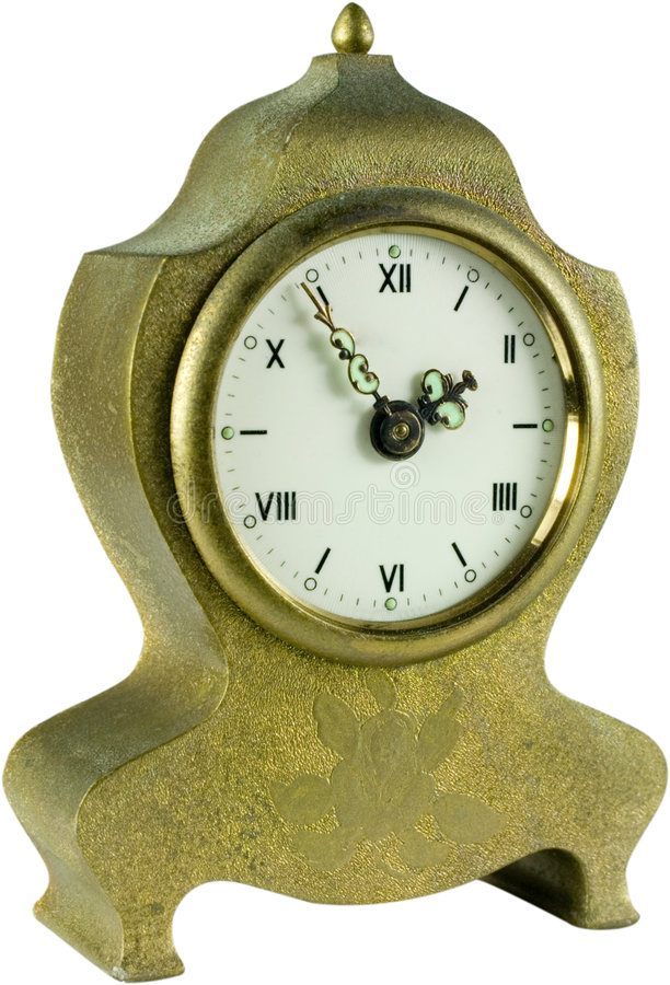 Antique alarm clock royalty free stock images