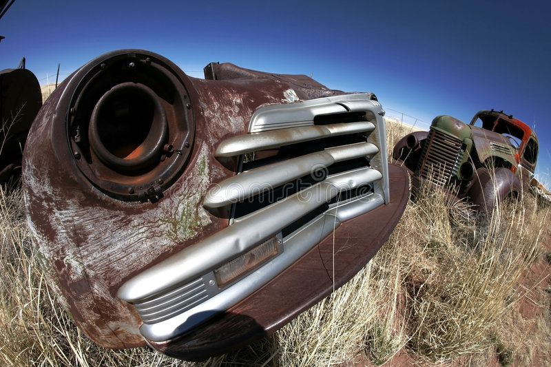 Antique american cars royalty free stock images