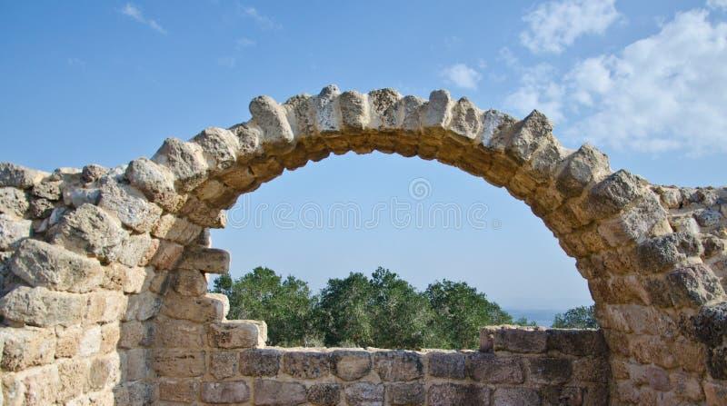 Antique Arc. Ruins of an antique Arc royalty free stock photos
