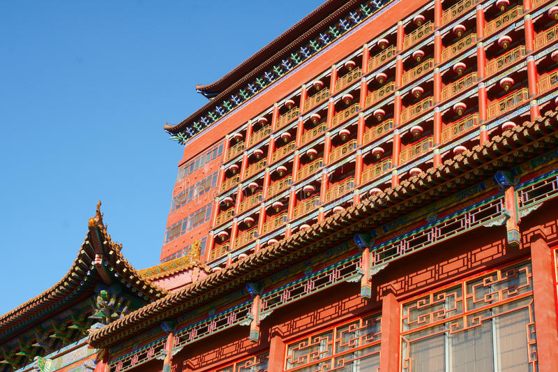 Download Antique architectural stock image. Image of hotel, chinese - 12329545