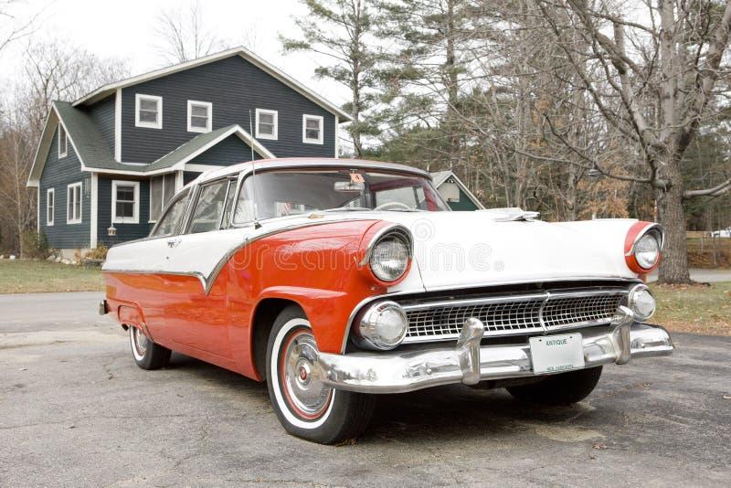 Antique automobile stock image