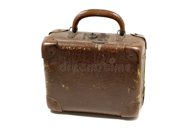 Antique bag stock image