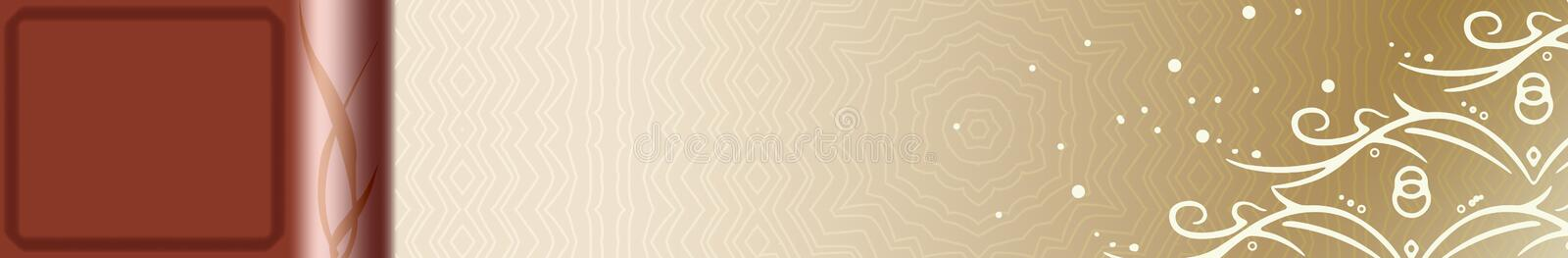 Antique Banner Royalty Free Stock Photo