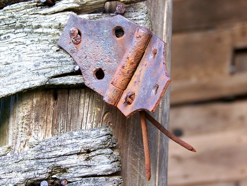 Download Antique Barn Hinge stock image. Image of barn, texture - 4835799