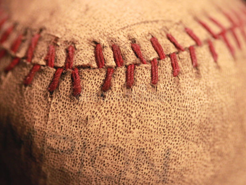 Antique Baseball royalty free stock photo