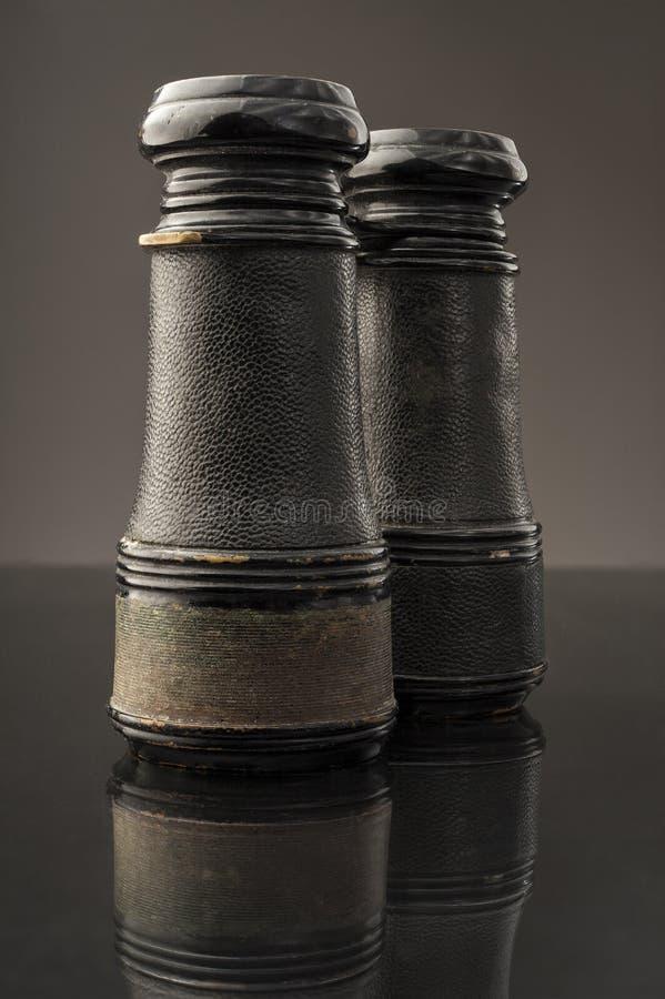 Antique Binoculars stock image