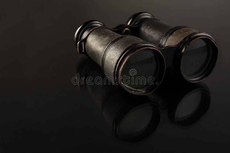 Antique Binoculars royalty free stock image