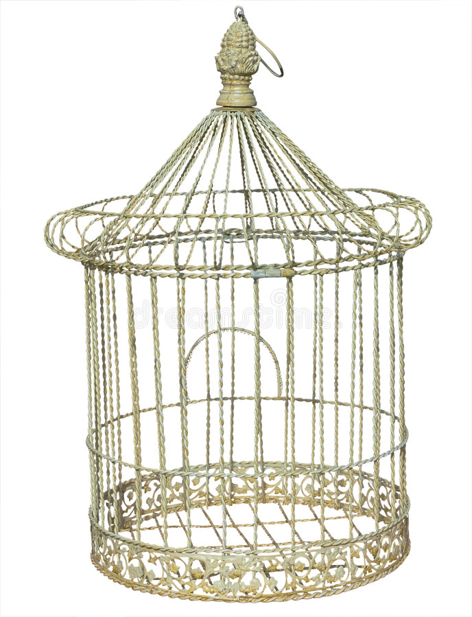 Antique Birdcage royalty free stock photos