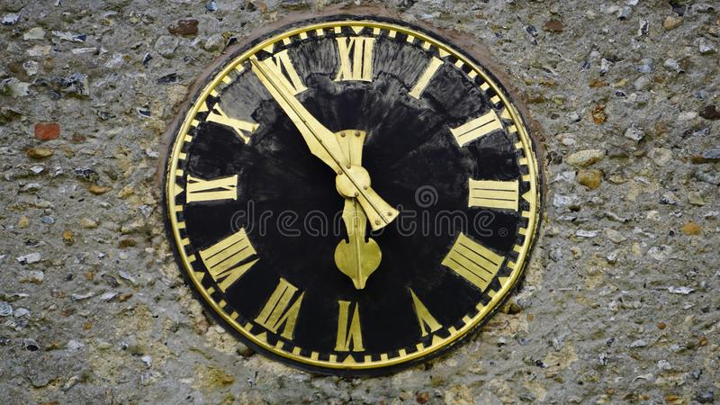 Antique, Black, Clock royalty free stock images
