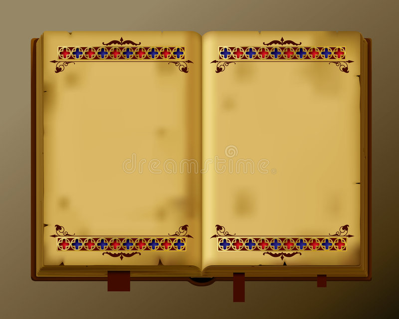 Antique book royalty free illustration